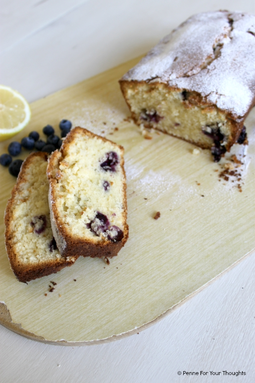 Lemon & Blueberry Madeira Cake Recipe