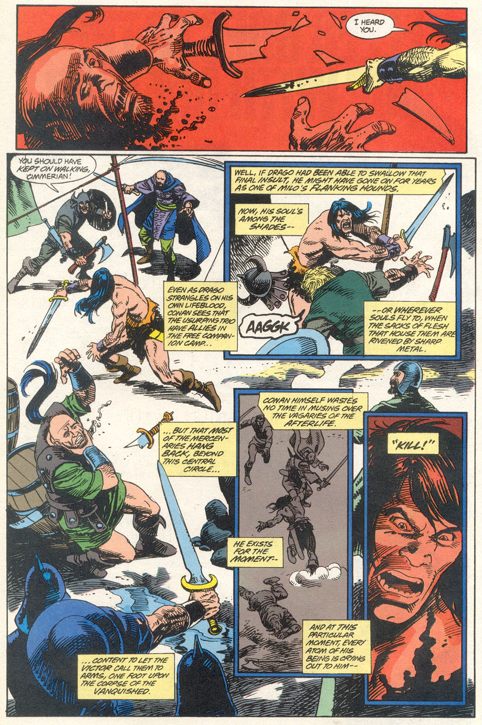 Conan the Barbarian (1970) Issue #275 #287 - English 6
