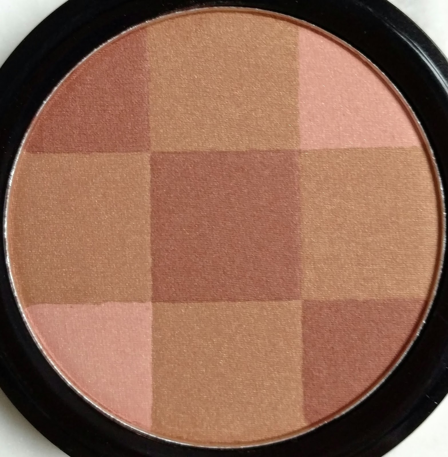 City Color Mosaic Blush Review & Swatches   The Budget Beauty Blog
