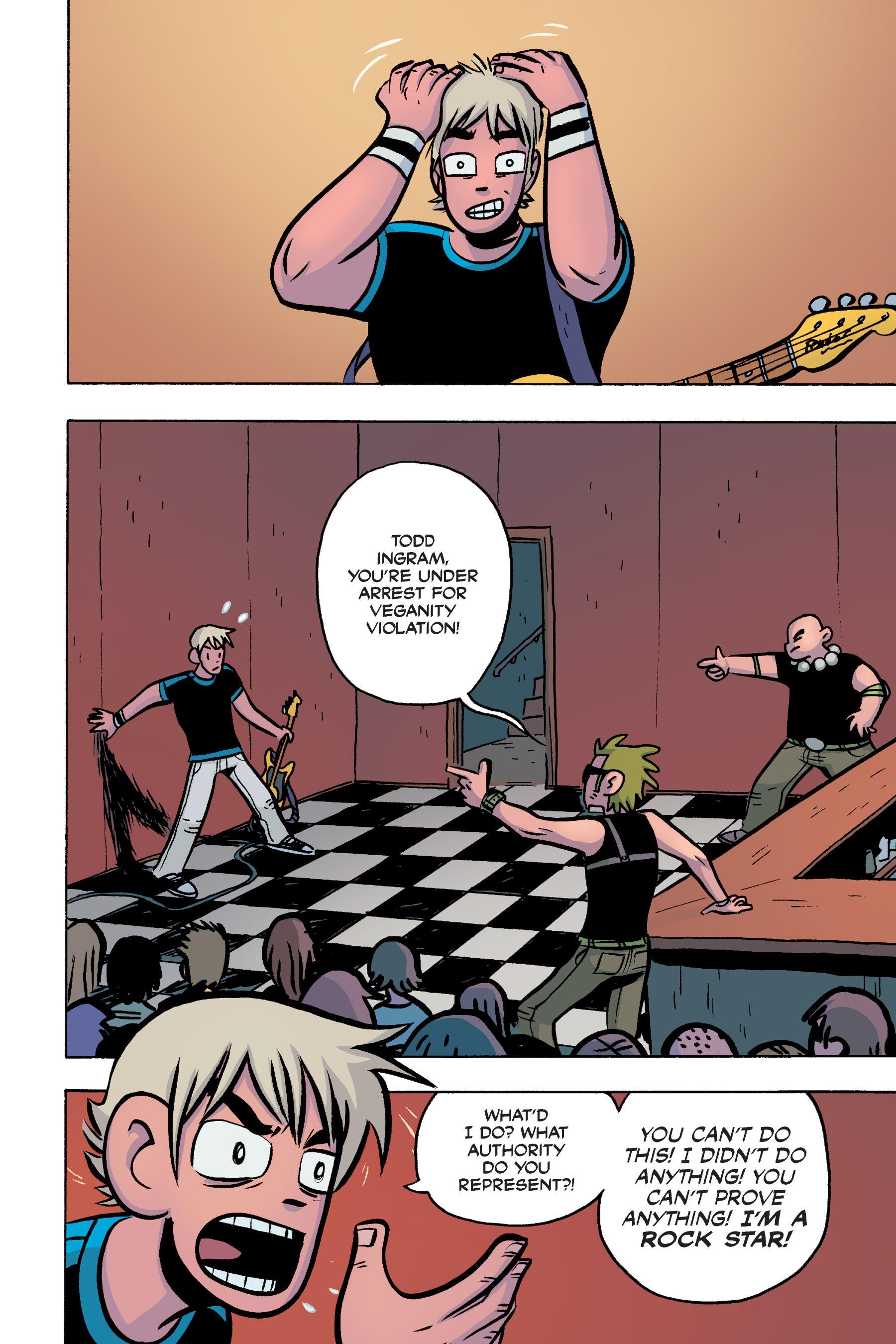 Read online Scott Pilgrim comic -  Issue #3 - 160
