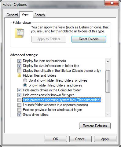 Cara Menyembunyikan File atau Folder Menjadi Super Hidden di Windows