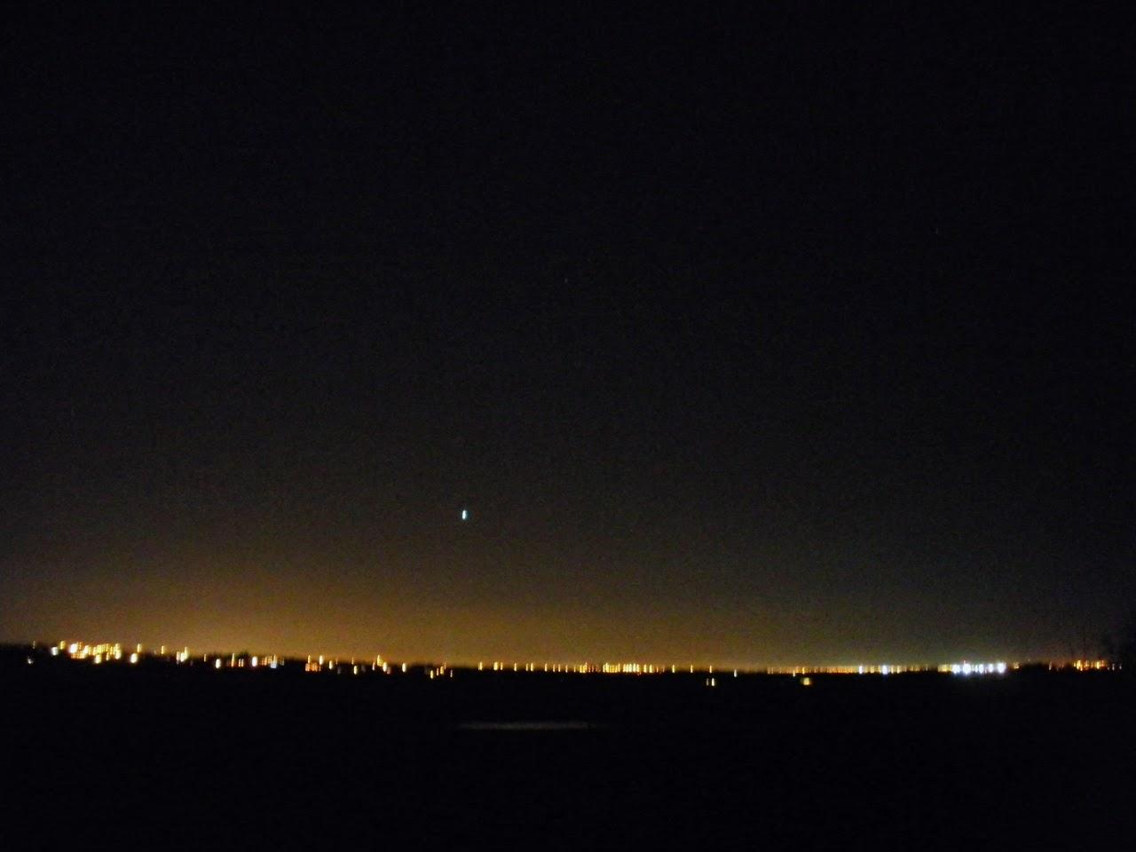 edmonton light pollution