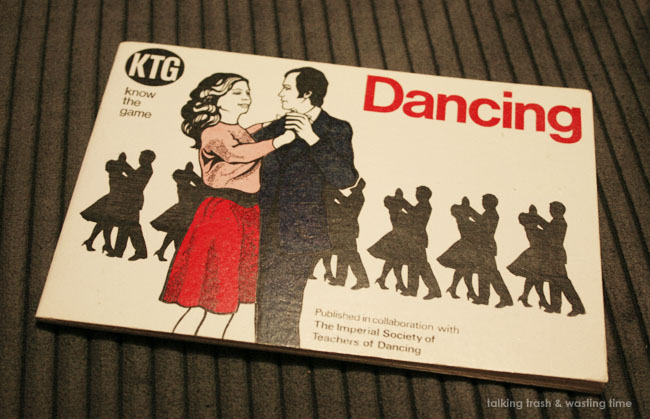 instuction book on how to dance in the 70s