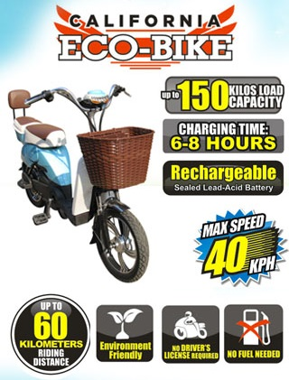Eco Bikes Philippines in the Philippines sells