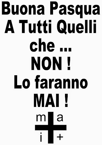 #Mai+ Buona Pasqua