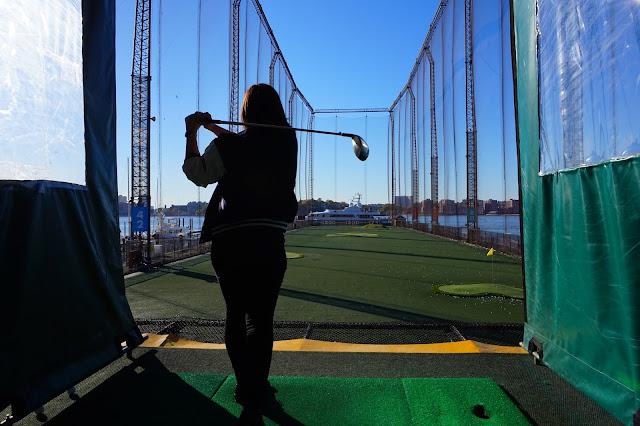 Grace DeMorgan Sydney Australian playwright tour guide to chelsea new york city golf club driving range