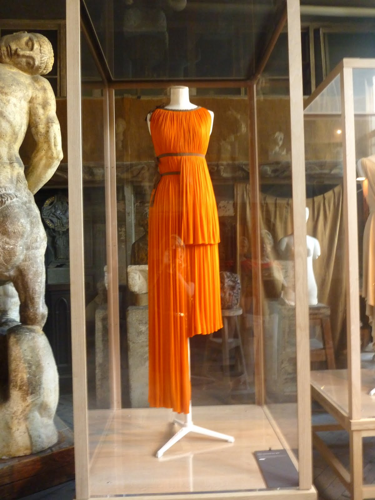 shine sparkle smile  madame gres exhibition  bourdelle