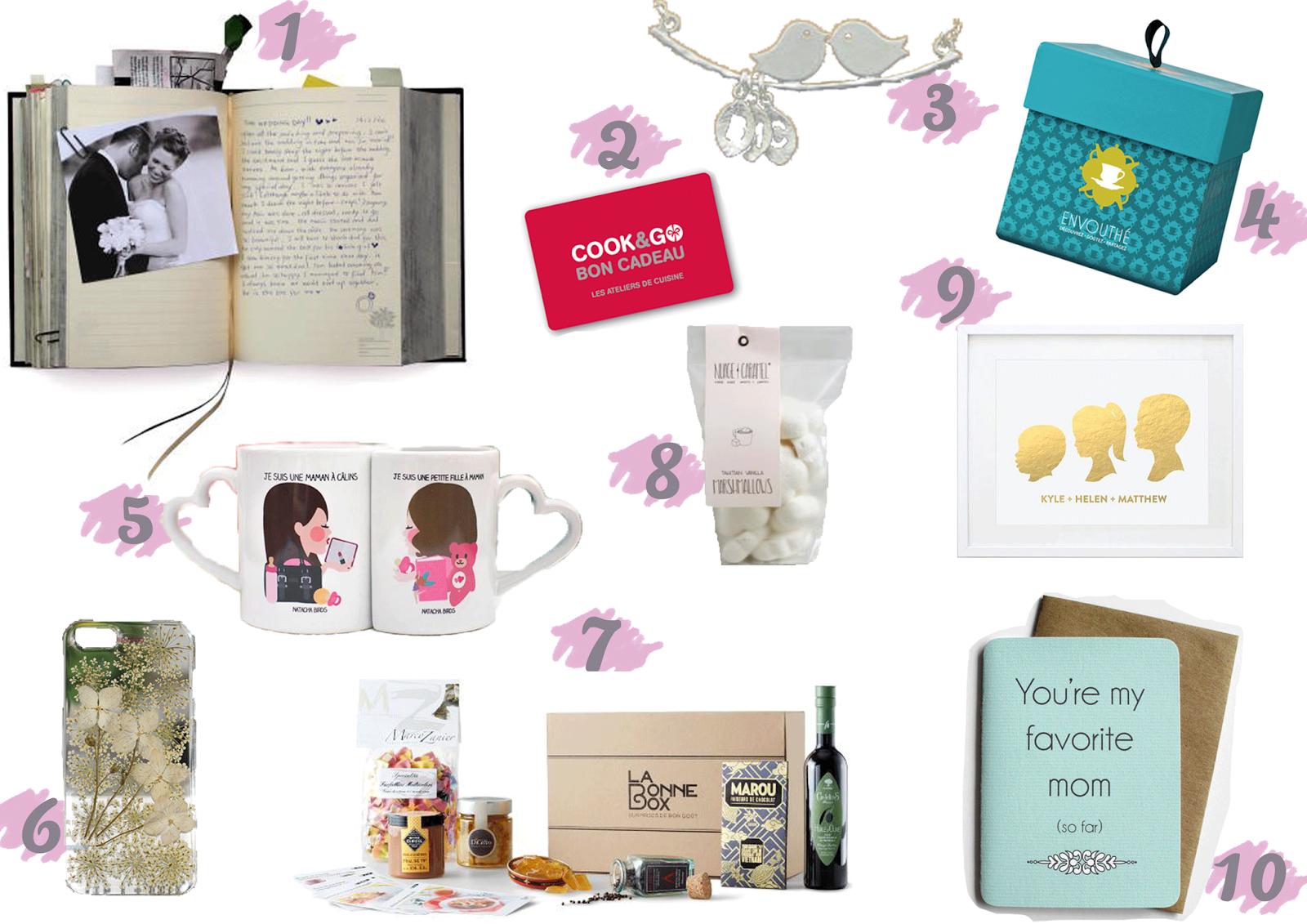 idées cadeaux fête des mères mother day mamzelle lili