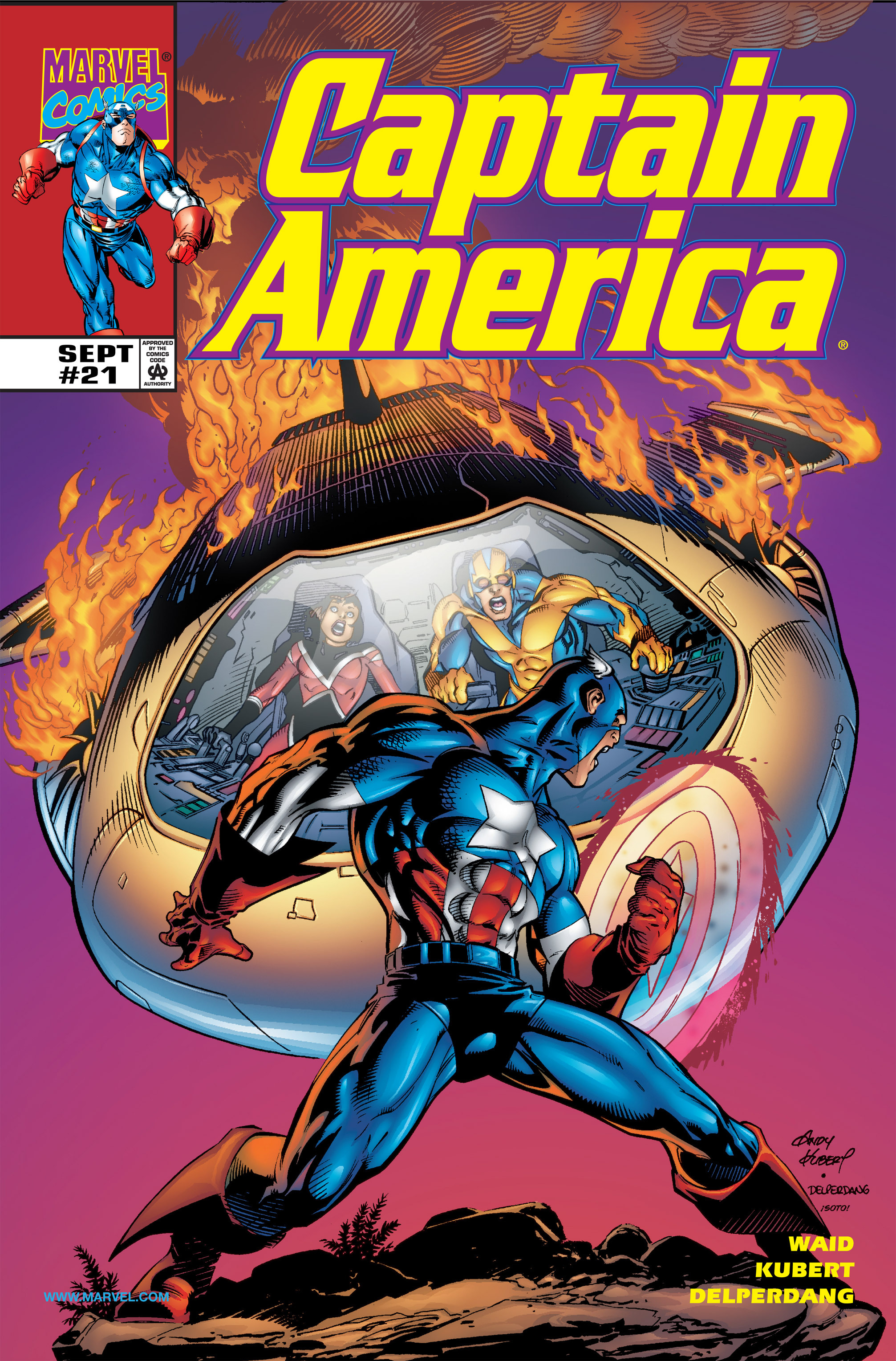 Captain America (1998) 21 Page 1