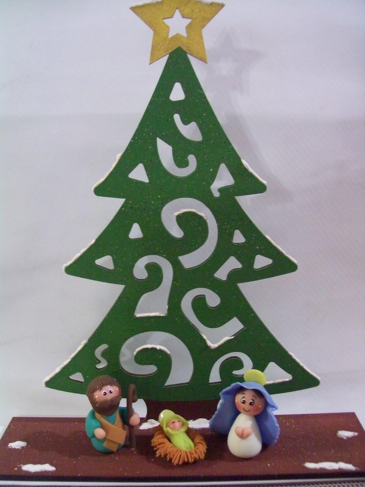 Un mundo de manualidades - Arboles de navidad de madera ...
