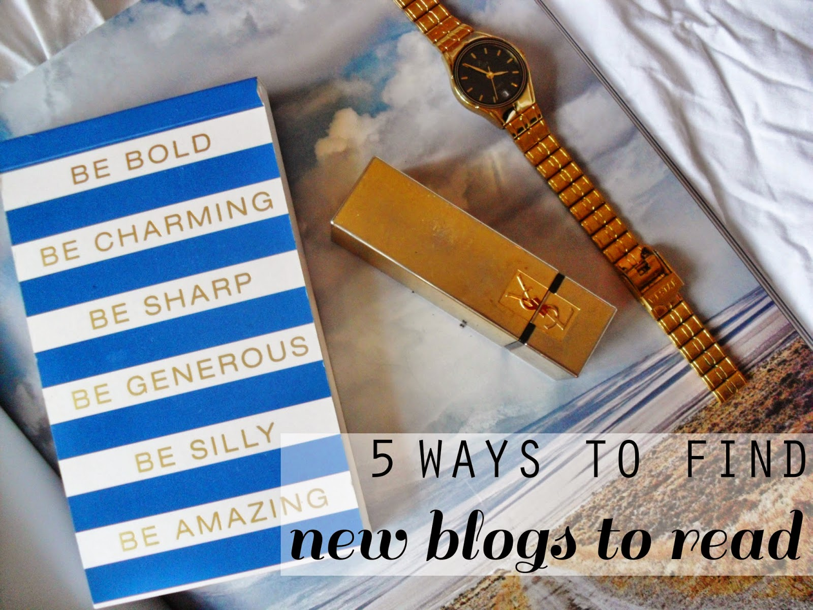 5 Ways To Find New Blogs To Read (and attract new blog readers for your own blog too!)