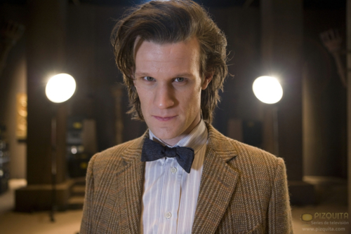 This is an Matt Smith's awesome hair post 2011
