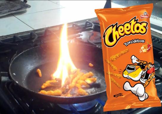 la realidad cheetos