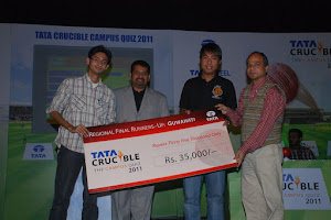 Q-FACTOR: Runner's up@ Tata crucible campus 2011 Guwahati regional round!!