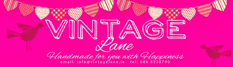 Vintage Lane, Handmade for you with Happiness