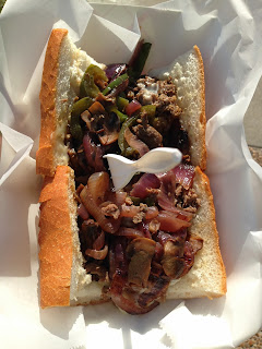 Third Coast Food Truck - Eye of the Tiger Sandwich
