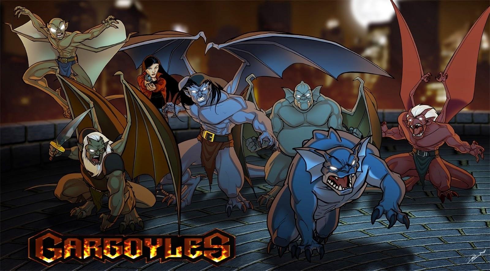 Il mondo di supergoku gargoyles risveglio degli eroi