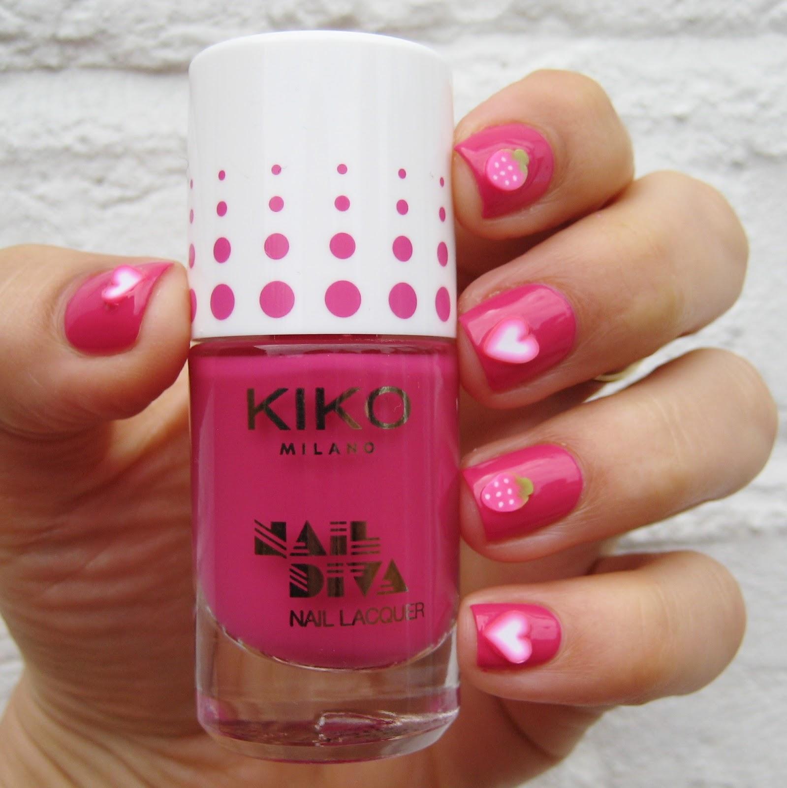 Dahlia Nails Kiko Milano Nail Diva Kit