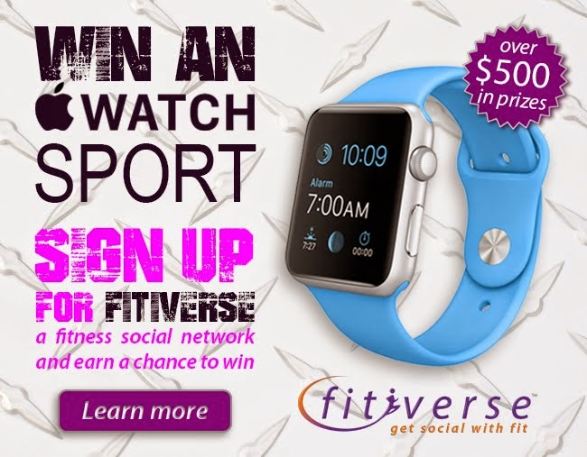 Sign up for Fitiverse for a chance to win an Apple Watch Sport at event in Farragut Sq Tues, May 12