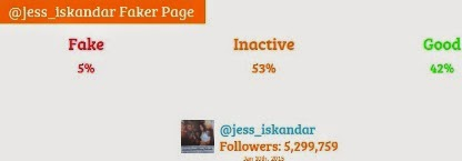 jessica iskandar fake followers