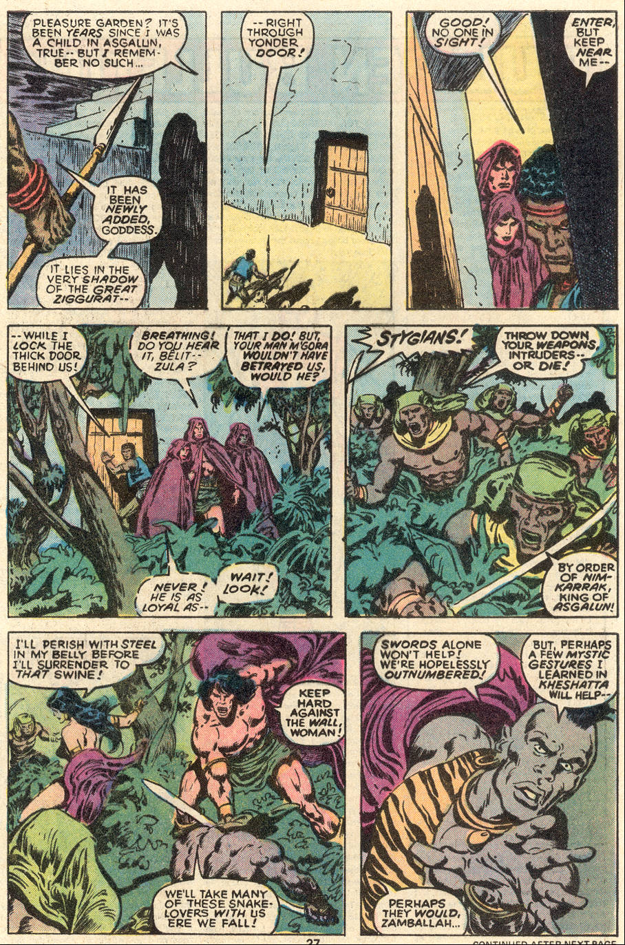 Conan the Barbarian (1970) Issue #91 #103 - English 16