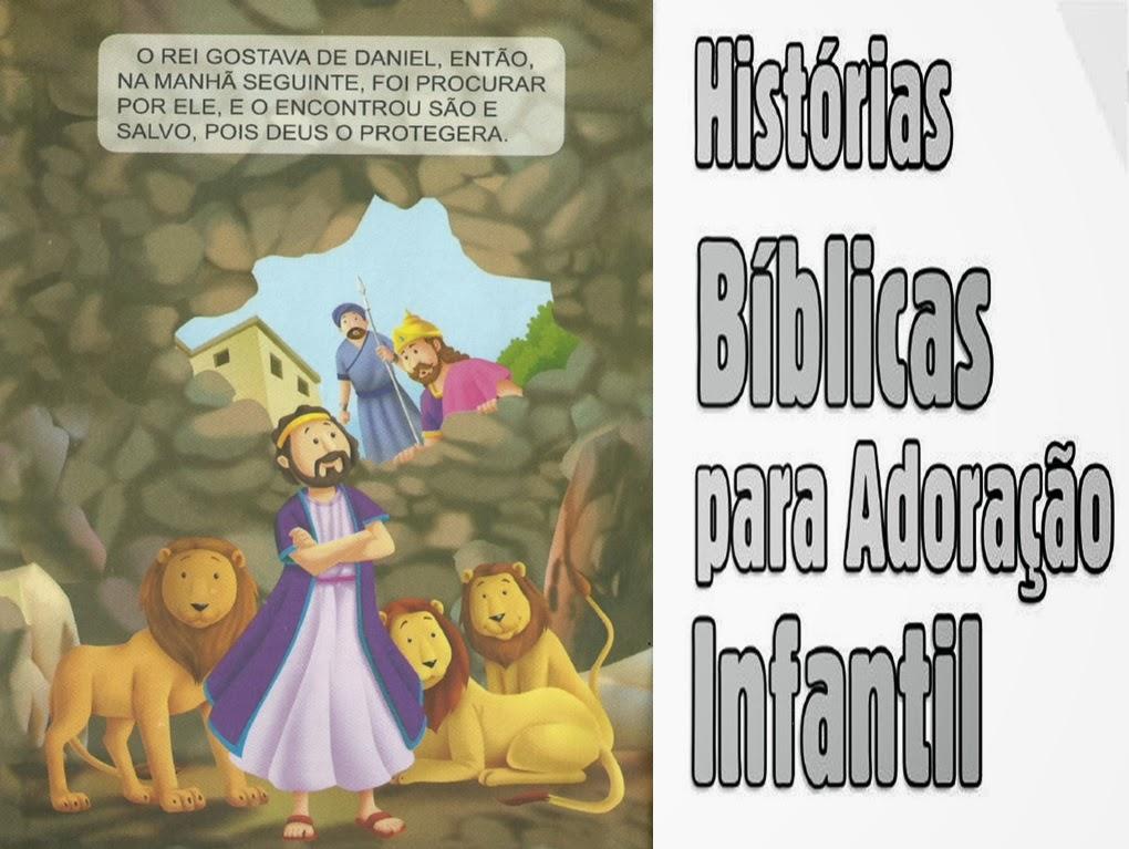 Histórias Bíblicas para Adoração Infantil