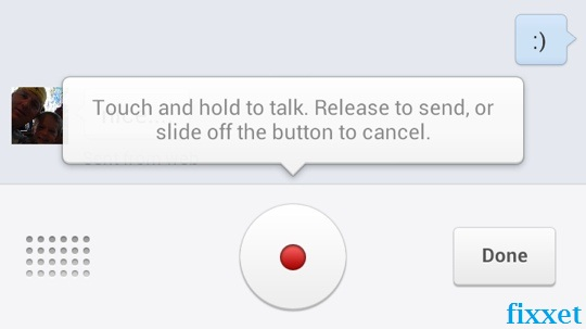 enable voice chat in facebook messenger