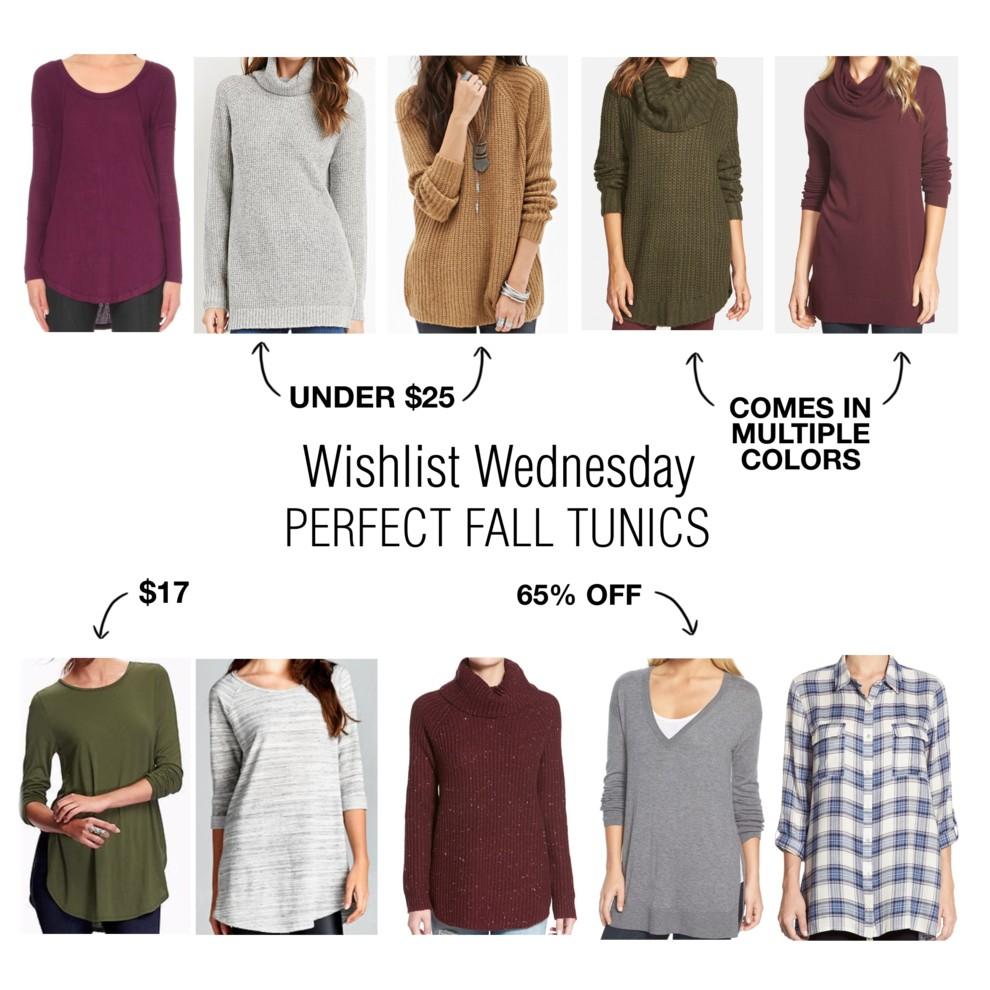 Wishlist Wednesday    The Perfect Fall Tunics - Kentucky Charm