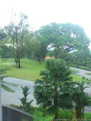 Capella Singapore Premier Garden Room View