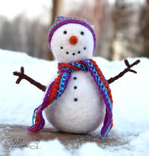 подарок на новый год, снеговик, новый год, новогодний снеговик