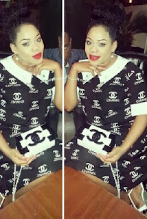Toyin Lawani Rocks rocks The  exact N1.5m Chanel bag