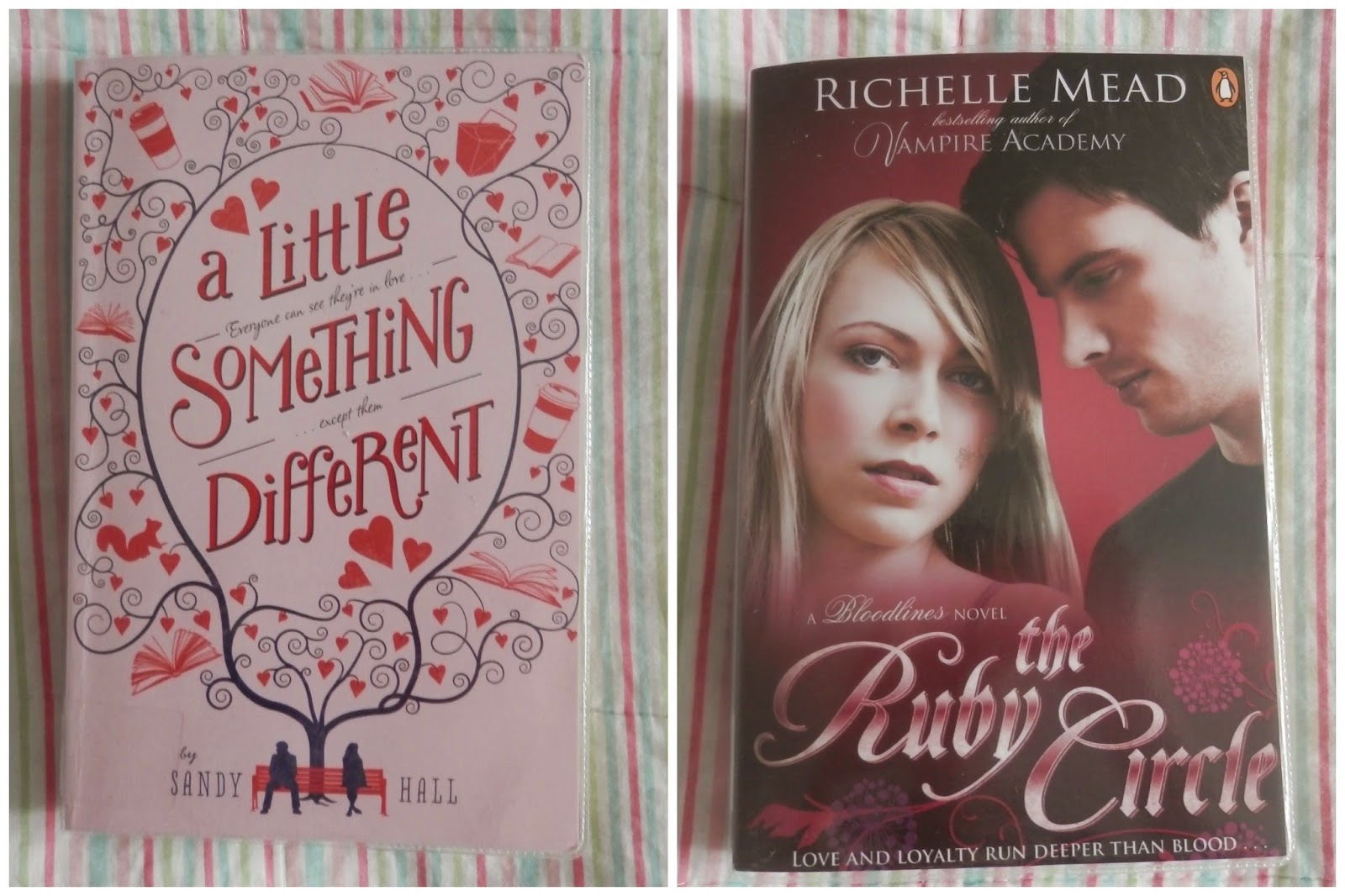 Library Love, A Little Something Different, Ruby Circle, The Misinterpretation of Tara Jupp, The Little White Horse.  secondhandsusie.blogspot.co.uk