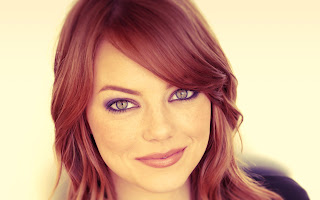 Emma Stone Redhead Beautiful Face HD Wallpaper