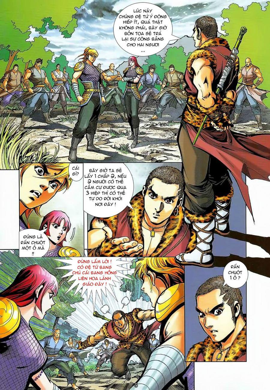 Thần Chưởng Long Cửu Châu chap 8 - Trang 5