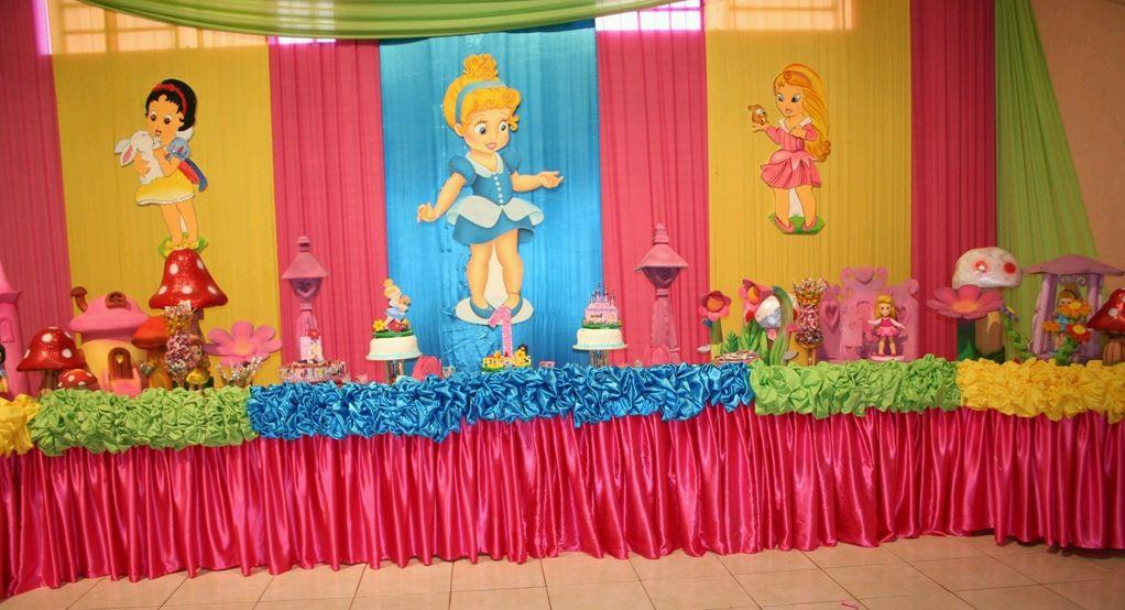 Fiestas infantiles princesas bebes parte 2 - Telas con motivos infantiles ...