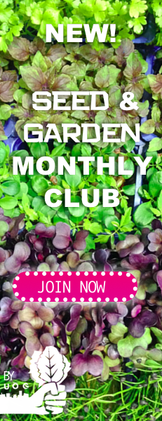 Urban Organic Gardener Seed Club