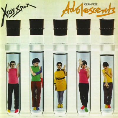 X-Ray Spex - Germfree Adolescents 1978 (UK, Punk Rock, New Wave)
