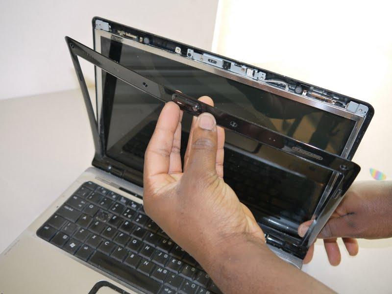 Lenovo G505s screen bezel removal