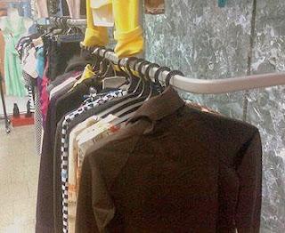 Фото отдела одежды