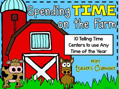 http://www.teacherspayteachers.com/Product/Any-Time-Series-Telling-Time-Math-Centers-1255245