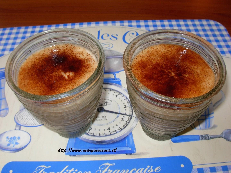 cappuccino fruttariano