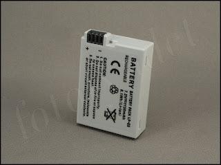 Batteri LP-E8 för Canon EOS 650D