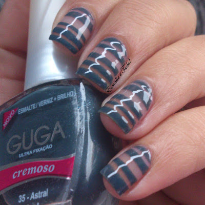 nail art listras