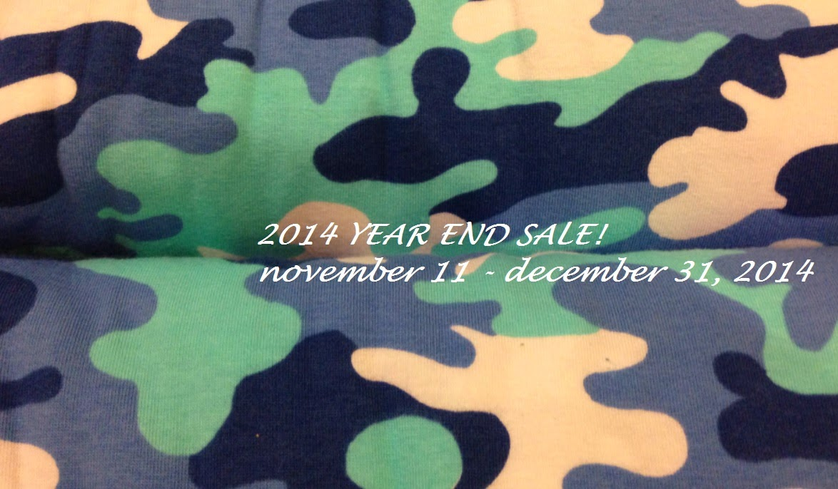 2014 YEAR END SALE! november 11 - december 31, 2014