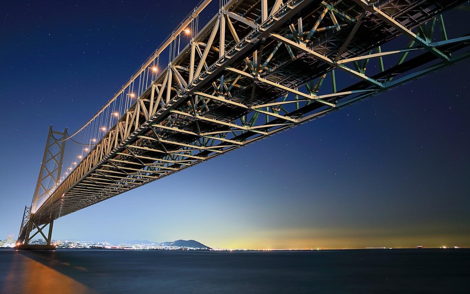 Akashi Kaikyo A Ponte Suspensa Mais Longa Do Mundo Pet