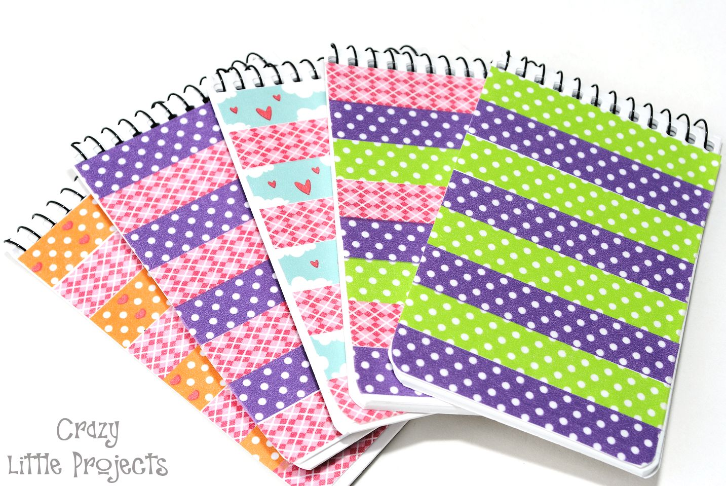 Add washi tape for unique notebook and pen set crafts for How do you use washi tape