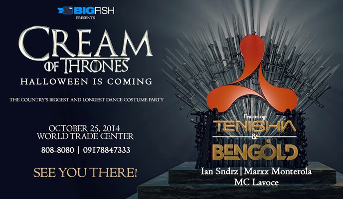 BIGFISH Cream Halloween Ball 2014: Cream of Thrones