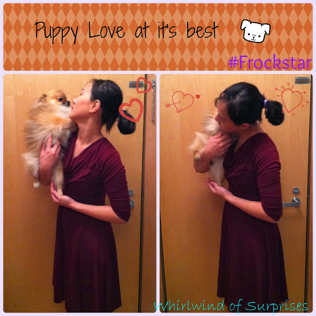 #Frockstar and #puppy love featuring #BabyPom