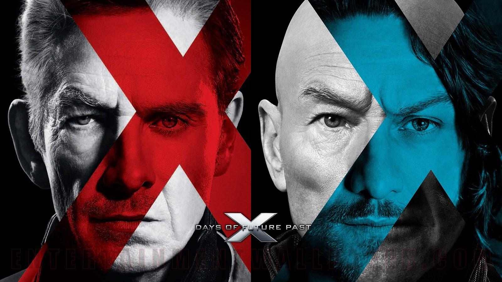 X-Men DOFP Michael Fassbender James McAvoy Patrick Stewart Ian McKellen