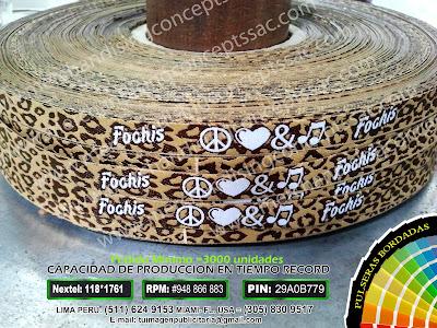 Pulseras Fochis | Pulseras publicitarias como las de fochis| fochis music| music fochis| pulseras publicitarias |pulseras de tela en peru| fabricantes de pulseras de tela en peru|